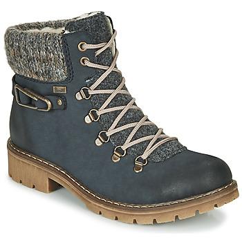 kengät Naiset Bootsit Rieker Y9131-16 Blue