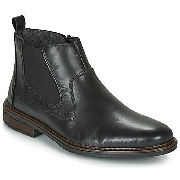 kengät Miehet Bootsit Rieker DANE Black