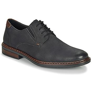 kengät Miehet Derby-kengät Rieker 17600-03 Black