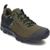 kengät Miehet Vaelluskengät Keen 1021169 Mustat, Oliivinväriset
