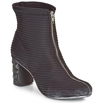 kengät Naiset Nilkkurit Papucei TEO BLACK Musta