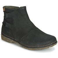 kengät Naiset Bootsit El Naturalista ANGKOR Musta