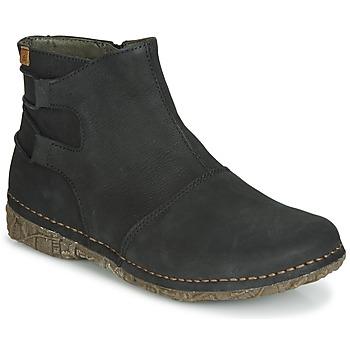 kengät Naiset Bootsit El Naturalista ANGKOR Black