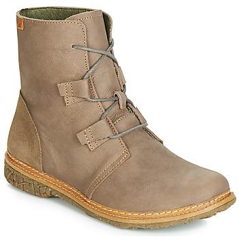 kengät Naiset Bootsit El Naturalista ANGKOR Harmaa