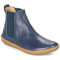 kengät Naiset Bootsit El Naturalista CORAL Blue