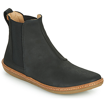 kengät Naiset Bootsit El Naturalista CORAL Musta