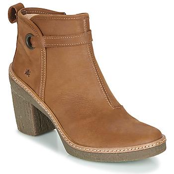 kengät Naiset Nilkkurit El Naturalista HAYA Ruskea