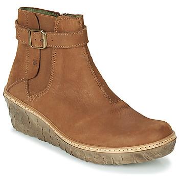 kengät Naiset Nilkkurit El Naturalista MYTH YGGDRASIL Brown