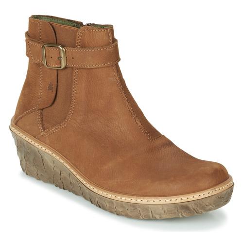 kengät Naiset Nilkkurit El Naturalista MYTH YGGDRASIL Ruskea