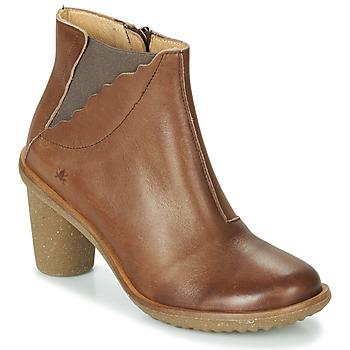 kengät Naiset Nilkkurit El Naturalista TRIVIA Brown
