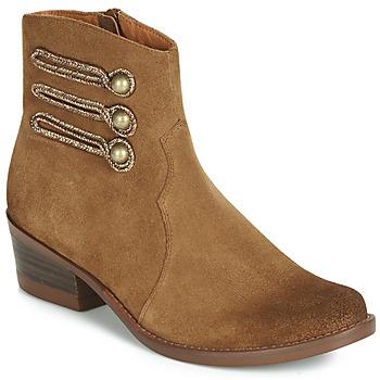 kengät Naiset Bootsit Mam'Zelle JUDITH Cognac