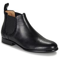 kengät Naiset Bootsit Melvin & Hamilton SALLY Black