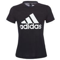 vaatteet Naiset Lyhythihainen t-paita adidas Performance DY7734 Black