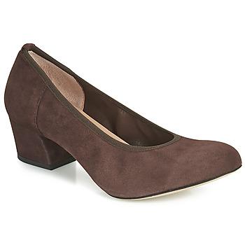 kengät Naiset Korkokengät Perlato 10366-CAM-NUT Brown