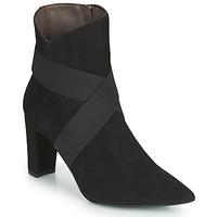 kengät Naiset Nilkkurit Perlato 11327-CAM-NOIR Musta