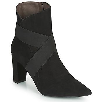 kengät Naiset Nilkkurit Perlato 11327-CAM-NOIR Black
