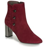 kengät Naiset Nilkkurit Perlato 11312-CAM-ROUGE Punainen