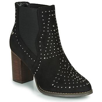 kengät Naiset Nilkkurit Xti LOVALO Black