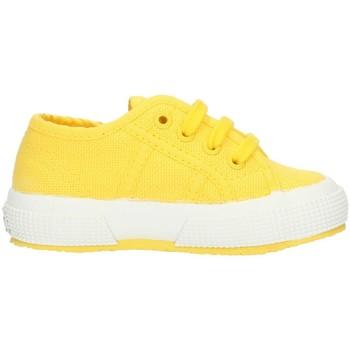 kengät Lapset Matalavartiset tennarit Superga 2750S0005P0 Yellow Sunflower