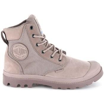 kengät Naiset Bootsit Palladium Manufacture Pampa Sport Cuff Wpn Harmaat