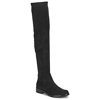 kengät Naiset Ylipolvensaappaat Caprice LITIA Black