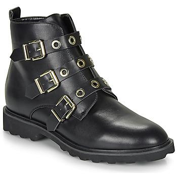 kengät Naiset Bootsit Moony Mood FIZANE Black
