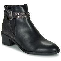 kengät Naiset Bootsit Moony Mood FLOURETTE Black