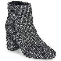 kengät Naiset Nilkkurit Moony Mood FRIPON Black / White