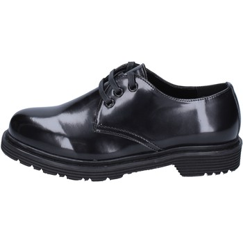 kengät Naiset Derby-kengät & Herrainkengät Olga Rubini classiche pelle sintetica Nero