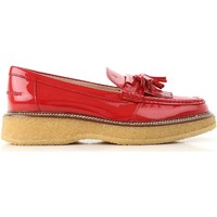kengät Naiset Mokkasiinit Tod's XXW30B0AK700W0R402 Rosso vivo