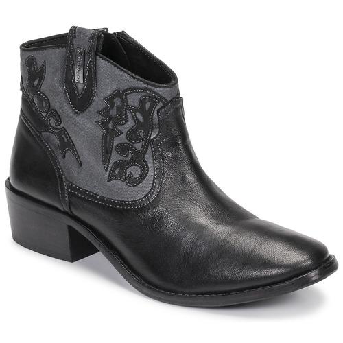 kengät Naiset Nilkkurit Les Tropéziennes par M Belarbi AMELIE Black
