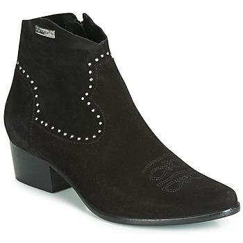 kengät Naiset Nilkkurit Les Tropéziennes par M Belarbi ASTRID Musta