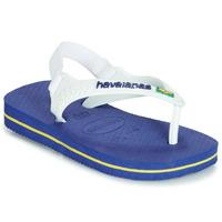 kengät Pojat Sandaalit ja avokkaat Havaianas BABY BRASIL LOGO Laivastonsininen