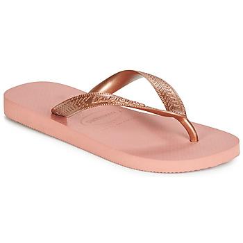 kengät Naiset Varvassandaalit Havaianas TOP TIRAS Vaaleanpunainen