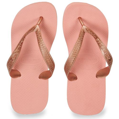 Havaianas Top Tiras Pink - Ilmainen Toimitus- Kengät Varvassandaalit Naiset 20