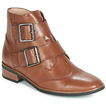 kengät Naiset Bootsit Karston JIRONO Brown