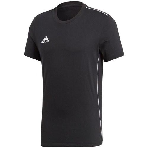 vaatteet Miehet Lyhythihainen t-paita adidas Originals Core 18 Mustat