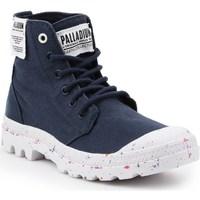 kengät Naiset Bootsit Palladium Manufacture HI Organic W Mustat