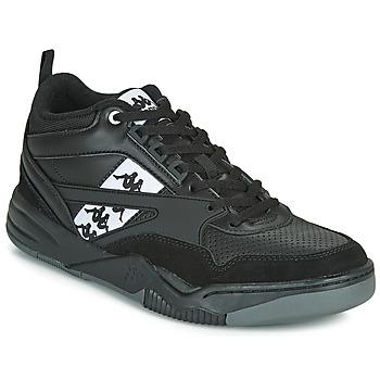 kengät Miehet Matalavartiset tennarit Kappa BORIS Black / Grey
