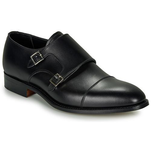 kengät Miehet Herrainkengät Barker FORD Musta