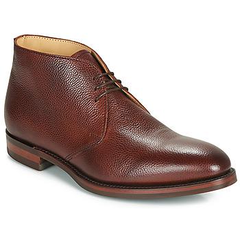 kengät Miehet Bootsit Barker OAKNEY Bordeaux