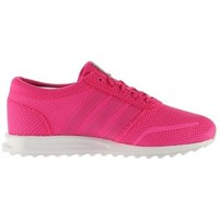 kengät Tytöt Matalavartiset tennarit adidas Originals Los Angeles C Vaaleanpunaiset