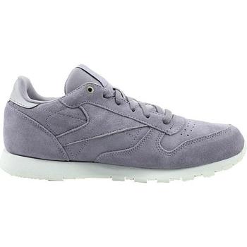 kengät Lapset Matalavartiset tennarit Reebok Sport CL Leather Mcc Valkoiset,Harmaat