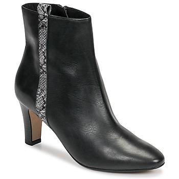kengät Naiset Nilkkurit Tamaris MAFIATA Black / Reptile