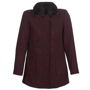 vaatteet Naiset Paksu takki Betty London LAURA Viininpunainen