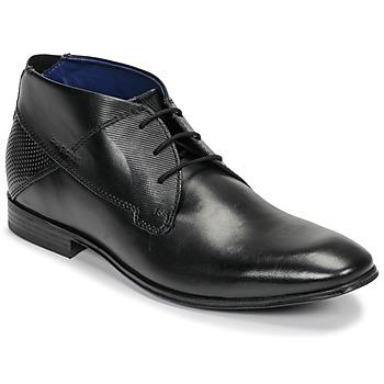 kengät Miehet Bootsit Bugatti ELVIS Black