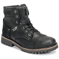 kengät Pojat Bootsit Bullboxer AHA518E6L-BLCK Black