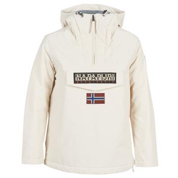 vaatteet Naiset Parkatakki Napapijri RAINFOREST WINTER White