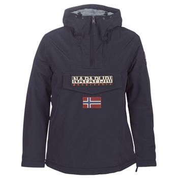 vaatteet Naiset Parkatakki Napapijri RAINFOREST WINTER Laivastonsininen