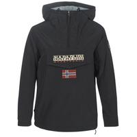 vaatteet Naiset Parkatakki Napapijri RAINFOREST WINTER Black